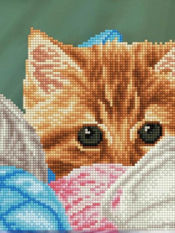 Diamond Dotz Diamond Dotz Kitty Hiding