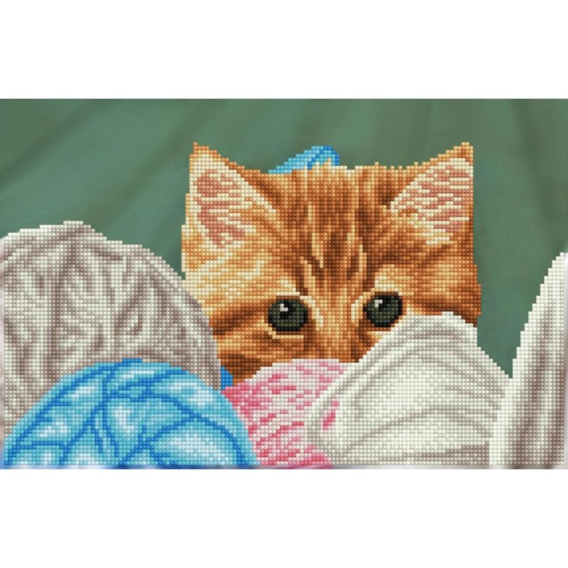 Diamond Dotz Diamond Dotz Kitty Hiding