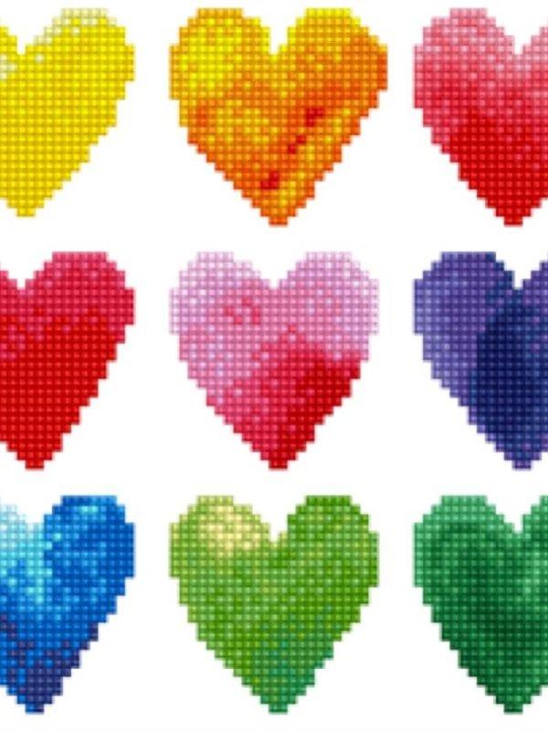 Diamond Dotz Diamond Dotz Love Rainbow