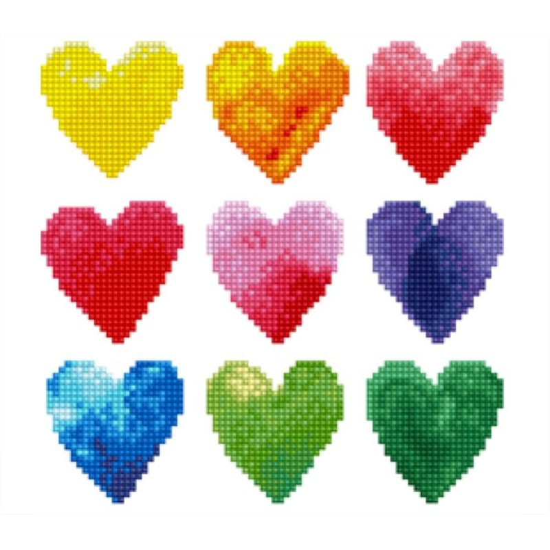 Diamond Dotz Diamond Dotz Love Rainbow