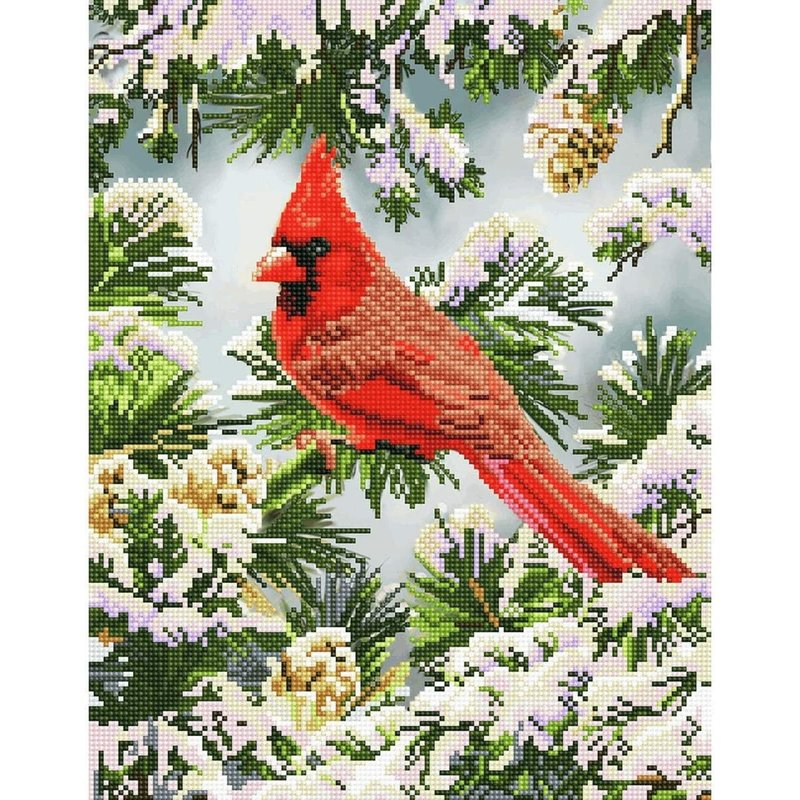 Diamond Dotz Diamond Dotz Good Fortune Cardinal