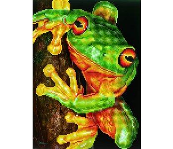 Diamond Dotz Green Tree Frog
