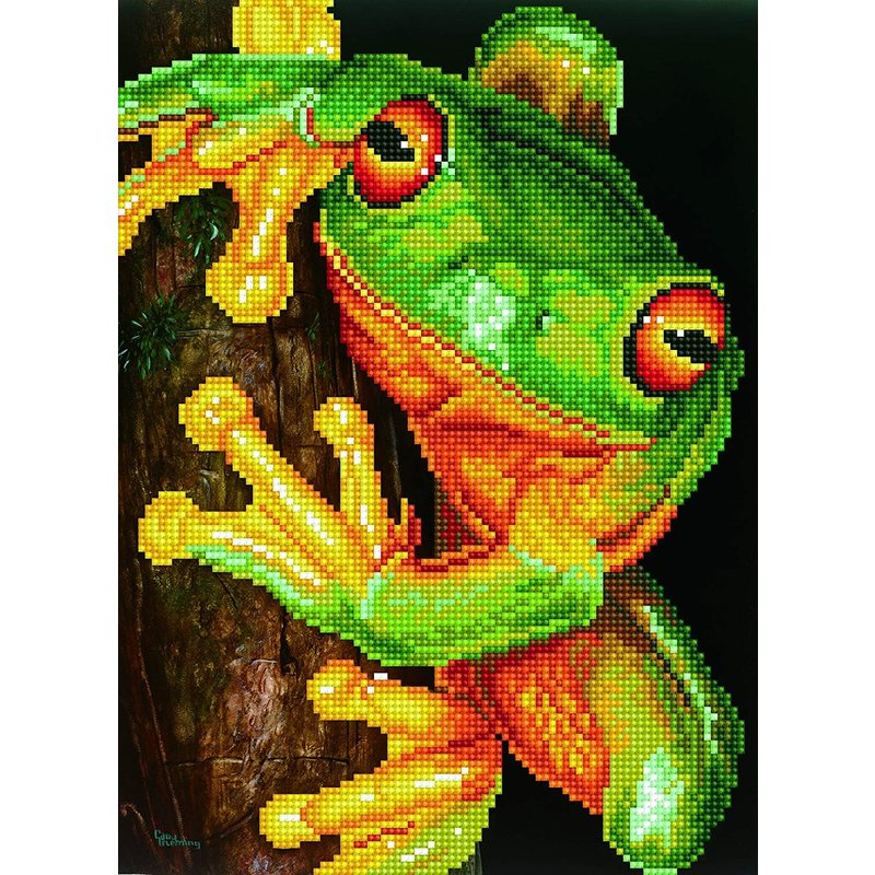 Diamond Dotz Diamond Dotz Green Tree Frog