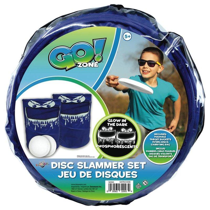Go! Zone Glow in the Dark Disc Slammer Set