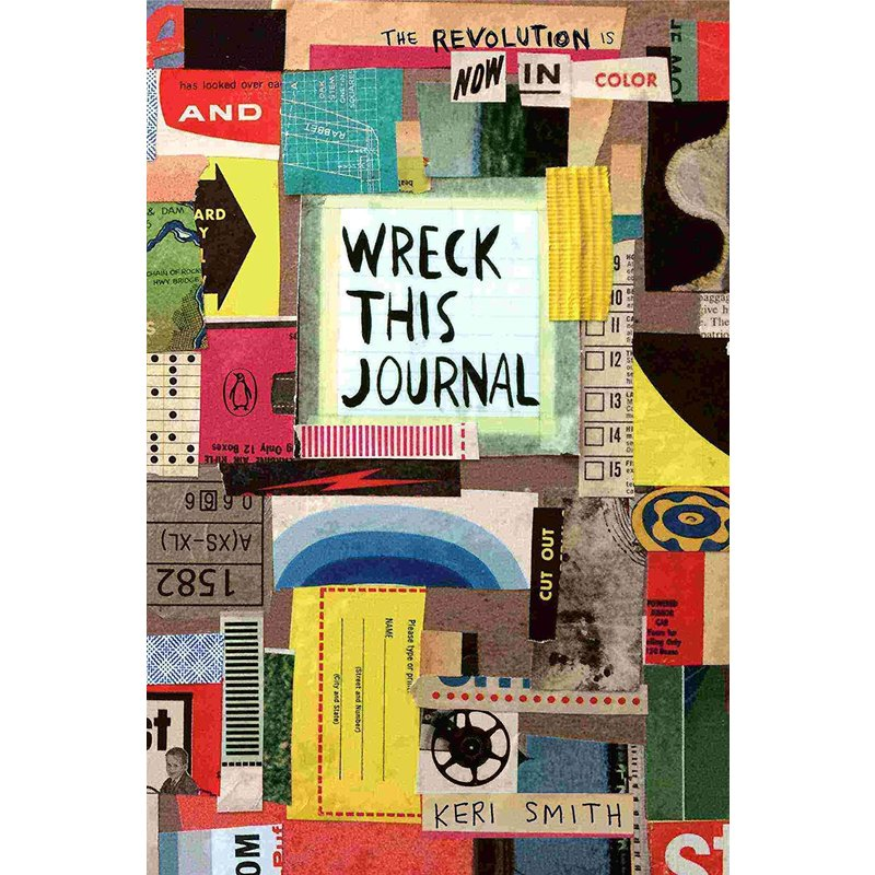 Wreck This Journal: In Color