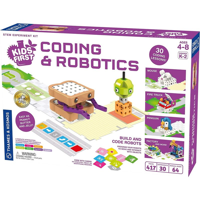 Thames & Kosmos Thames & Kosmo's Kid's First Coding and Robotics