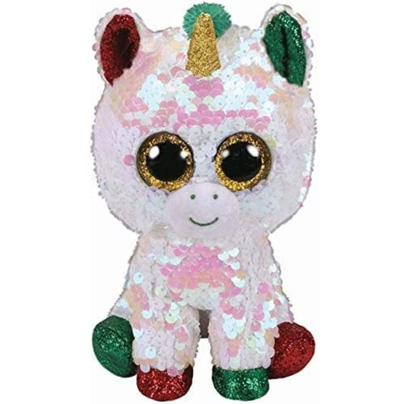 Ty Ty Flippables Christmas Starducst Unicorn Medium