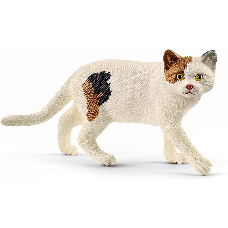 Schleich Farm World American Shorthair Cat