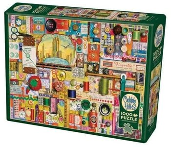 Cobble Hill  Puzzle 1000pc Sewing Notions