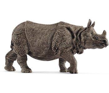 Schleich Wild Life Indian Rhinoceros