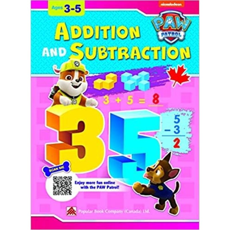 Paw Patrol Additon & Subtraction
