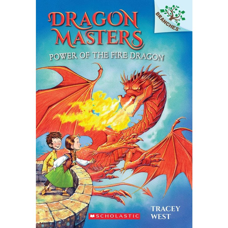 Scholastic Dragon Masters #4 Power of the Fire