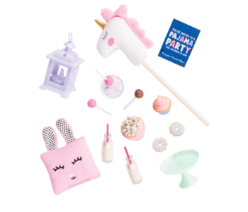 Our Generation Doll Accessory: Sleepover Party Unicorn