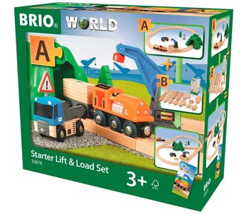 Brio World Railway Starter Set Lift & Load