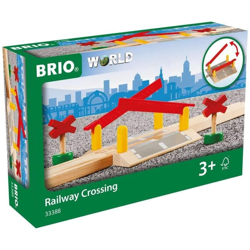 Brio Brio World Railway Crossing