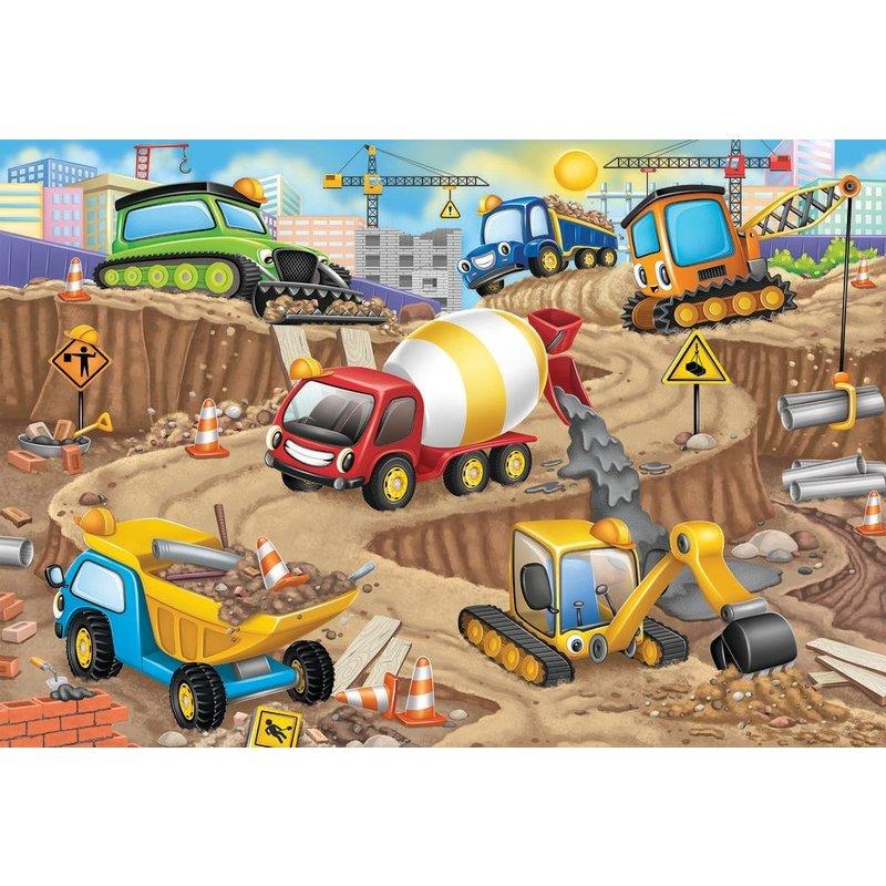 Ravensburger Ravensburger Floor Puzzle 24pc Construction Fun