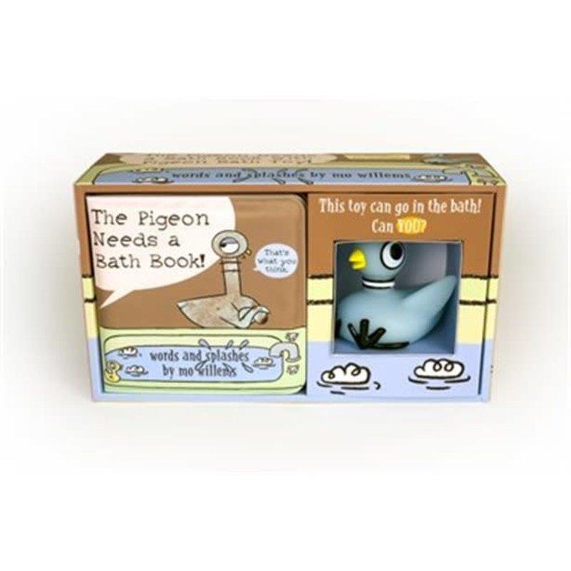 The Pigeon Needs a Bath & Bath Toy