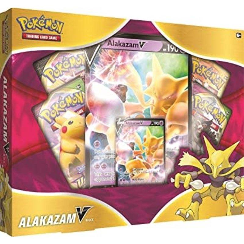Pokemon Alakazam V Box
