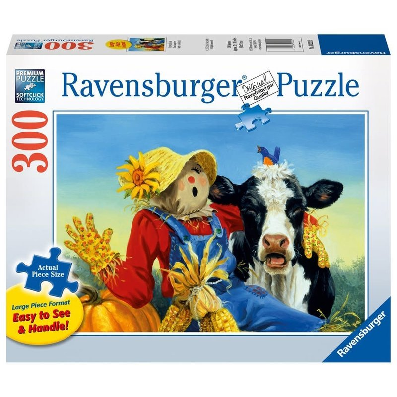 Ravensburger Ravensburger Puzzle 300pc Large Format Barnyard Duet