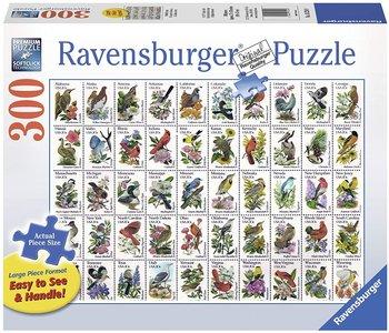 Ravensburger Puzzle 300pc Lrg 50 Bird Stamps