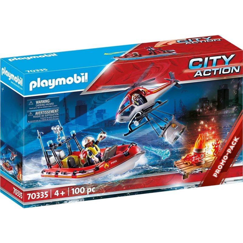 Playmobil Playmobil Fire Rescue Mission