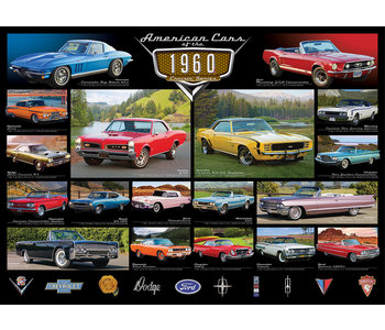 Eurographic Puzzle 1000pc American Cars 1960`s