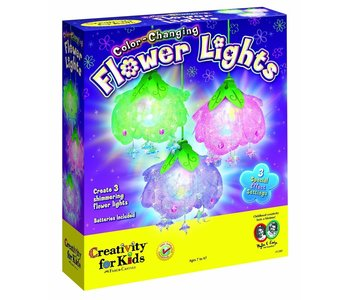 Creativity for Kids Color Changing Flower Light