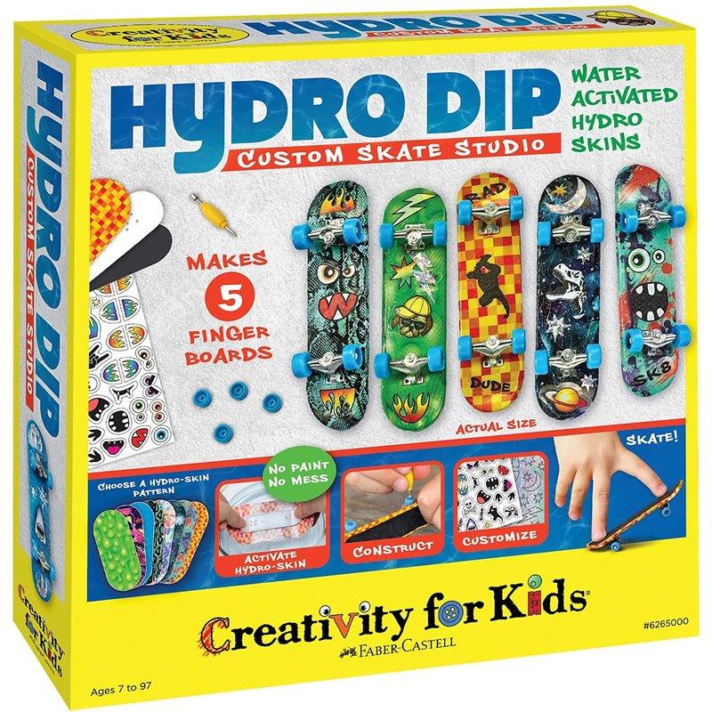 Creativity for Kids Creativity Craft Hydro Dip Custom Skate Studio