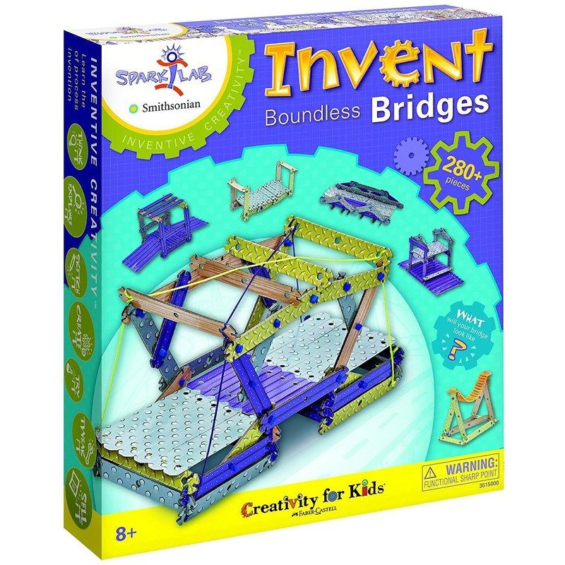 Creativity for Kids SparkLab! Boundless Bridges
