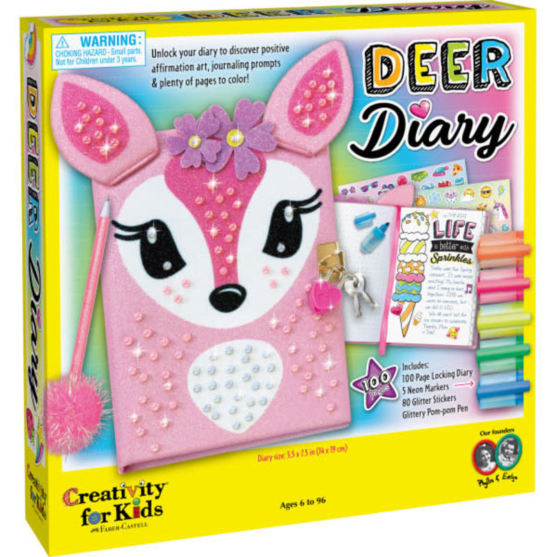 Creativity for Kids Creativity for Kids Deer Diary