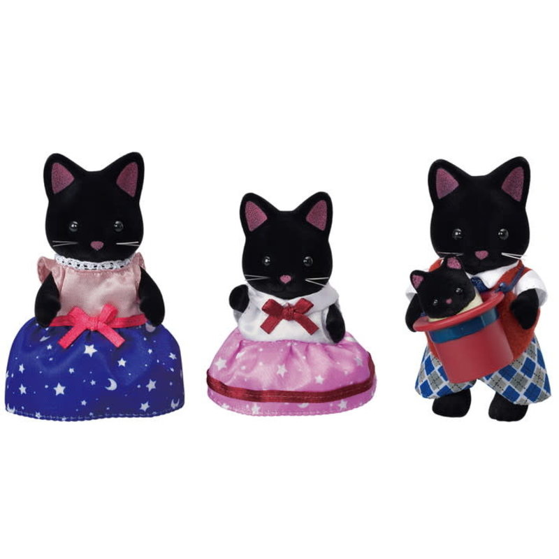Calico Critters Calico Critters Family Midnight Cat