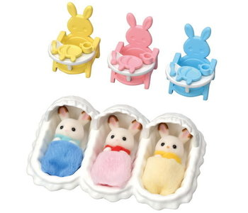Calico Critters Triplets Care Set