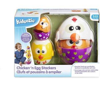 Kidoozie Baby Chicken & Egg Stackers
