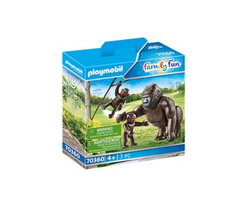 Playmobil Zoo Gorilla with Babies