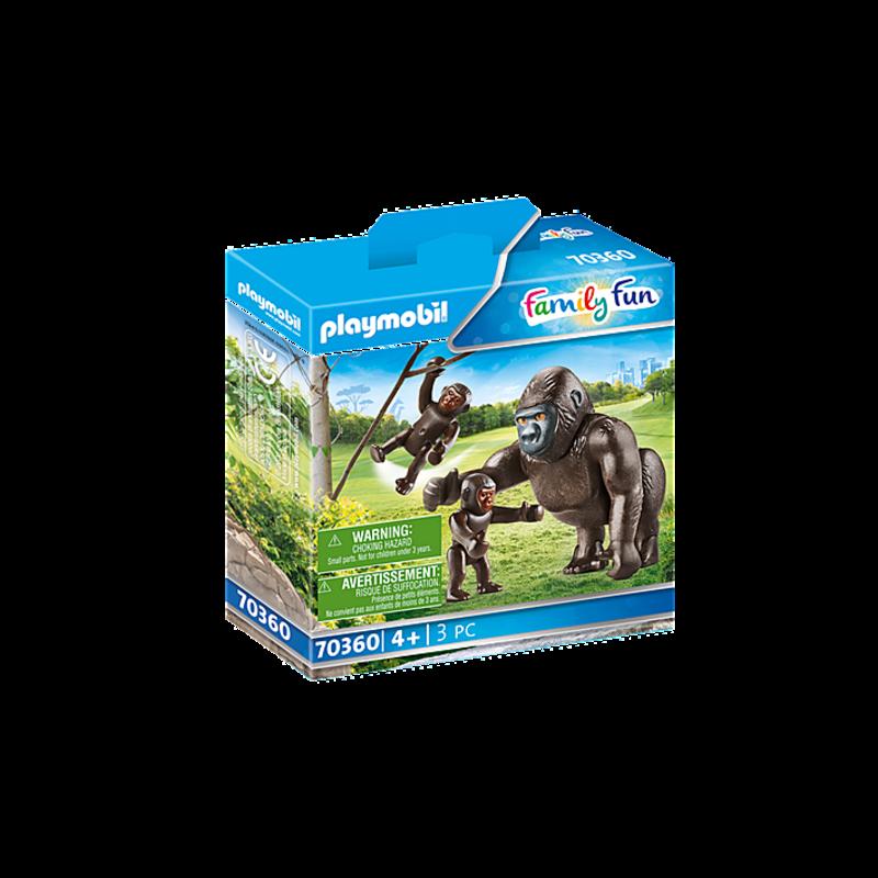 Playmobil Playmobil Zoo Gorilla with Babies
