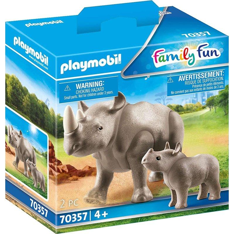 Playmobil Playmobil Zoo Rhino with Calf