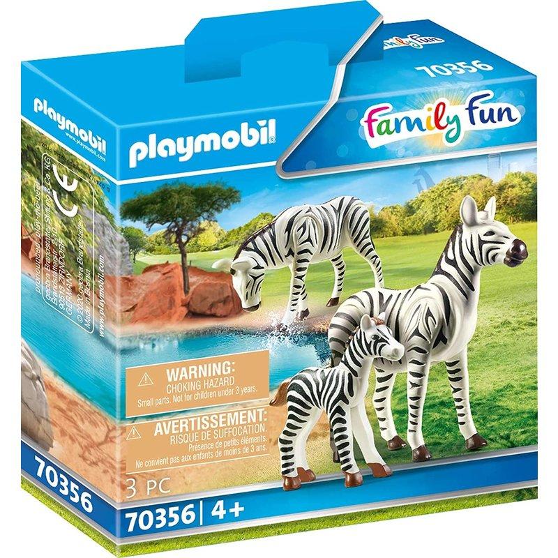 Playmobil Playmobil Zoo Zebras with Foal