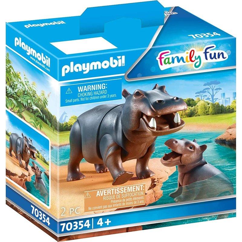 Playmobil Playmobil Zoo Hippo with Calf