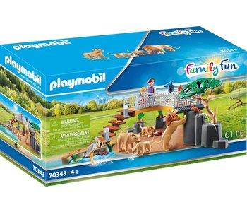 Playmobil Zoo Outdoor Lion Enclosure