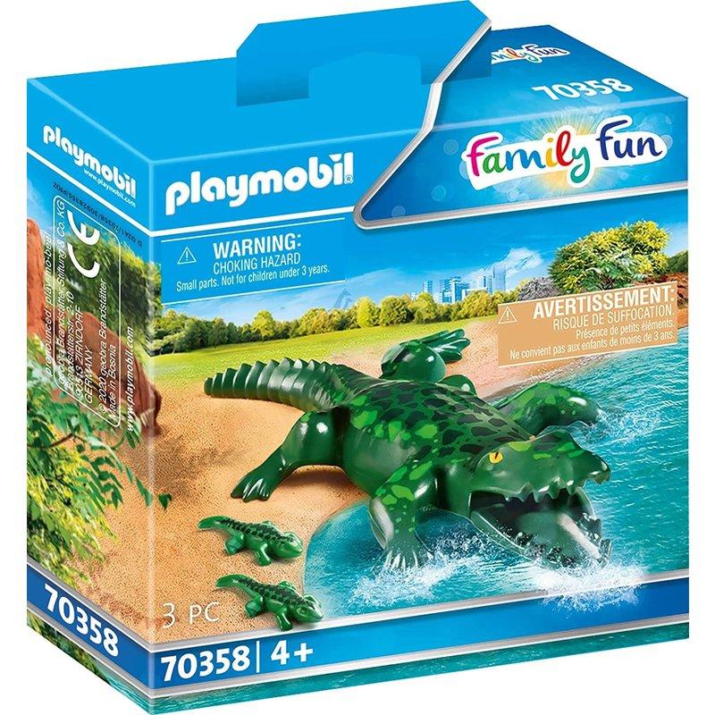 Playmobil Playmobil Zoo Alligator with Babies