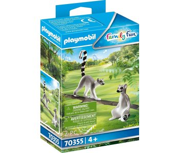 Playmobil Zoo Lemurs