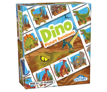 Outset Game Picture Dominoes Dino