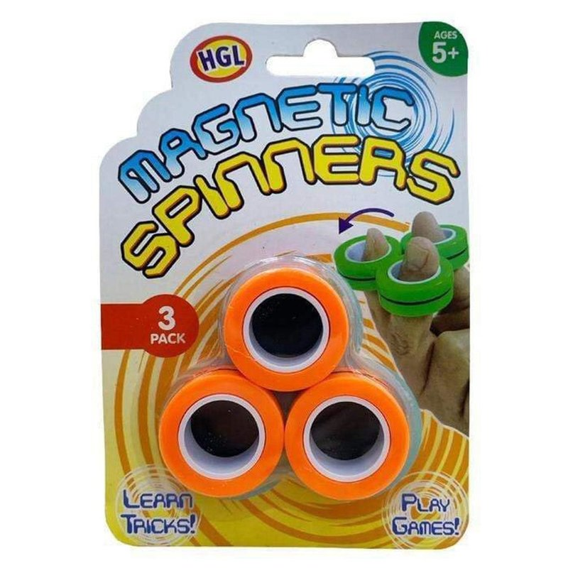 Fidget Toy Magnetic Spinning Rings