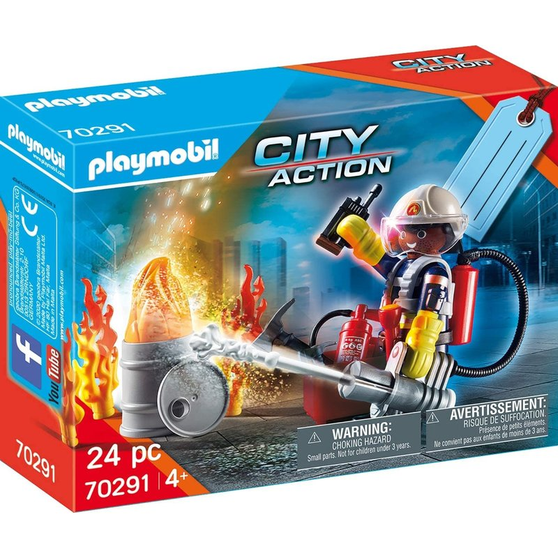 Playmobil Playmobil Gift Set Fire Rescue