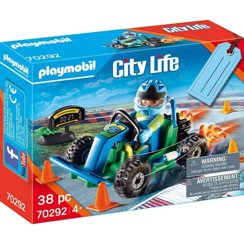 Playmobil Playmobil Gift Set Go-Kart Racer