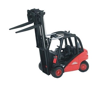 Bruder Linde Forklift With Pallets