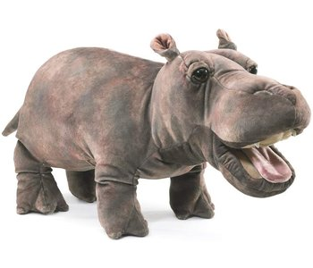 Folkmanis Puppet Baby Hippo
