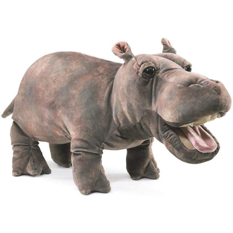 Folkmanis Folkmanis Puppet Baby Hippo