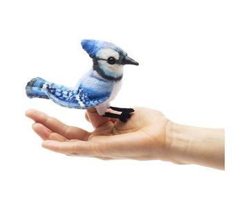 Folkmanis Puppet Mini Blue Jay