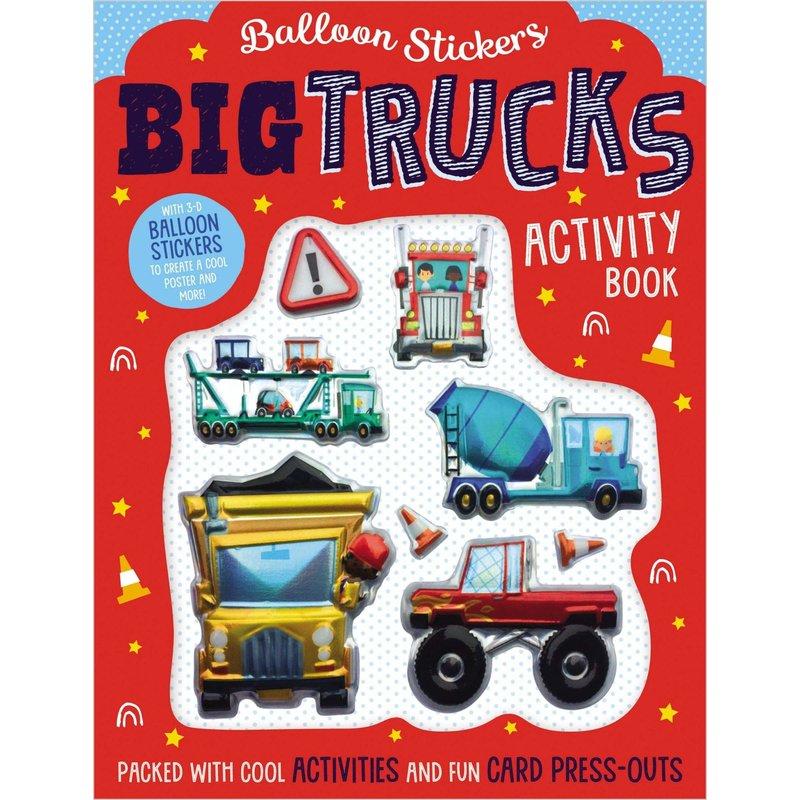 Big Trucks Activity Book
